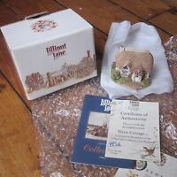 Lilliput Lane Wren Cottage Collector's Club Exclusive with COA + Deeds Free Post