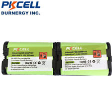2 X Cordless Phone Rechargeable Batteries for Panasonic HHR-P107 HHRP107 PKCELL