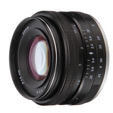 50mm f/2.0 Manual Focus Prime Fixed Lens for Nikon 1 S2 S1 J5 J4 J3 J2 AW1 V3 V2