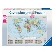 Ravensburger Political World Map Puzzle 1000 pc