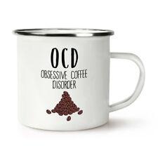 Coffee OCD Retro Enamel Mug Cup