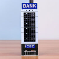 N Scale 1/150 1/144 Outland Sand Table Modern Bank Skyscraper Building Model *
