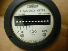 """Biddle/Frahm 400 cycle frequency meter #322996 21/2"""""""