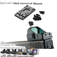 Tactical Rear Red Dot Sight for Universal Glock Plate Base Mount
