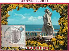 ITALIA MAXIMUM MAXI CARD INFORMAZIO. FOTOGRAFICA RIVIERA FIORI 1987 SANREMO B332