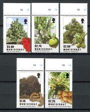 Montserrat 2009 Bäume Trees Pflanzen Plants Früchte 1481-85 Postfrisch MNH
