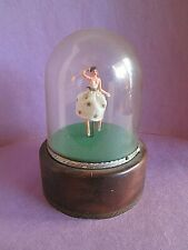 Reuge Swiss Domed Music Box Ballerina Dancer Switzerland Doll