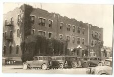 1920s-30s Hotel Alexandria Minnesota Great Cars! Real Photo Postcard RPPC