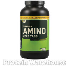 Optimum Nutrition Superior Amino 320 Tablets Complete Bcaas BEST BEFORE 02/2017