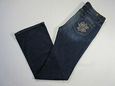 PAIGE Hollywood Hills in Tuscan Tweed Las Palmas Stretch Bootcut Jeans 32 x 34 ½