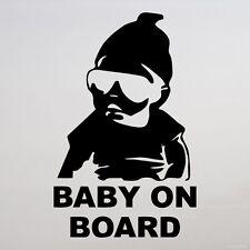 Bebé a bordo bebé niño ventana coche de parachoques Señal Decal Sticker