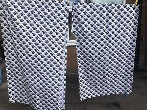 Wallace and Gromit Shaun The sheep Black and White Curtains
