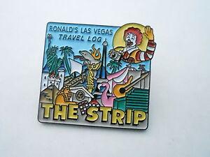 NOS Vintage McDonalds Advertising Enamel Pin #01 - THE STRIP