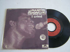 SP 2 TITRES 45T VINYL . JAMES BROWN , I CRIED , SPECIAL CLUB . POLYDOR 2001 189