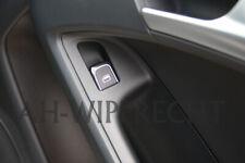 NEU Audi Chrom Schalter Fensterheber Alu Tuning A4 S4 A5 S5 RS5 Q5 A7 A6 S6 OEM