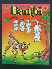 Gladstone Comic Album #9 Bambi Near Mint 1988