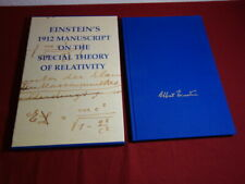 101589 EINSTEIN'S 1912 MANUSCRIPT ON THE SPECIAL THEORY OF RELATIVITY Facsimile
