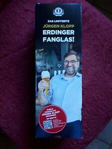 4× Bierglas  Erdinger Weißbier Jürgen Klopp
