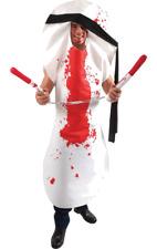 Mens Ninja Sanitary Towel Halloween Novelty Fancy Dress Costume