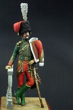 CGS Officer French Chasseur of Guard Napoleonic 120mm Unpainted kit CORRY