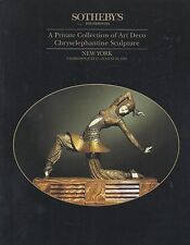 SOTHEBY'S ART DECO Chryselephantine Sculpture Coll Chiparus Exhibition Catalog