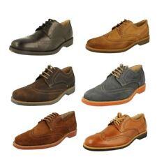 Brogues Standard Leather Upper Formal Shoes for Men