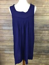 Edme Esyllte Anthropologie Size Small Sunbaked Blue Shift Dress Tunic
