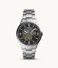 Fossil Men's ME3180 Forrester 42mm Skeleton Dial Stainless Steel Watch