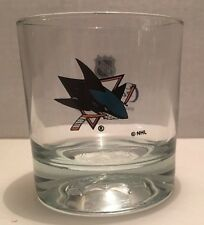 San Jose Sharks Crown Royal Whiskey Glass NHL Hockey