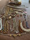 Job Lot Vintage Costume Jewellery