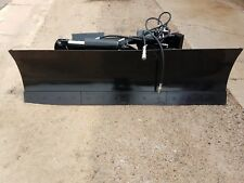 new heavy 7.5 foot six way dozer blade for skidsteer also snow plow fits bobcat