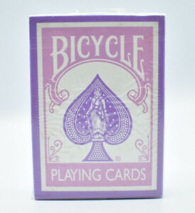 Bicycle Playing Cards Very Rare Test Deck Purple/Lavender New Sealed