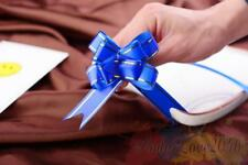 10 Pcs Royal Blue LARGE PULL BOW Quality Car Gift Wrap Pew Party Poly Floristry