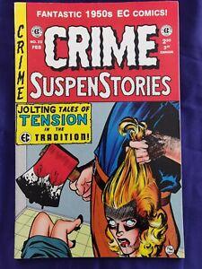 Crime SuspensStories #22 EC Comics 1998 Historic Reprint SOTI