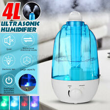LED Ultrasonic Humidifier Diffuser Mist Maker 20㎡ Room Air Purifier