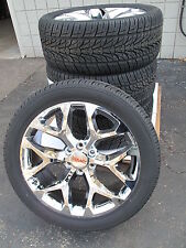 "20"" New GMC Yukon Sierra Chrome Wheels 275-55-20 Nexen Tires 5668"
