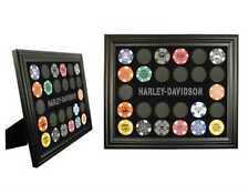 Harley-Davidson Poker Chip Collectors Frame. 6927
