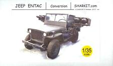 Sharkit Models 1/35 JEEP ENTAC MISSILE LAUNCHER Resin Conversion Kit