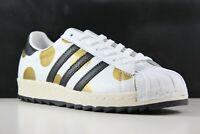 Adidas Jeremy Scott Superstar 80s Ripple Size 11.5 Mens White/Black/Gold G61527