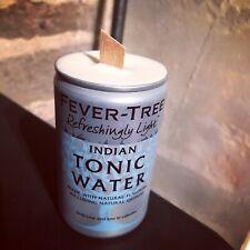 Silver Fever Tree Scented Candle Wooden Wick Upcycle Vanilla Scent Yankee