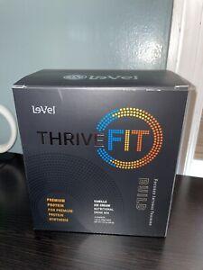 Le-vel ThriveFit Build Workout Protein Shakes Vanilla Ice Cream Gluten Free