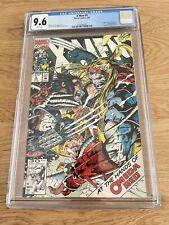 ❌ X-Men #5 CGC 9.6 1st App Maverick Omega Red 2nd App & 1st Full Cover 📈Jim Lee