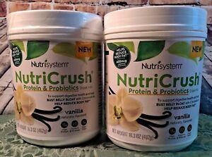 Nutrisystem Shakes 2 Vanilla NutiCrush