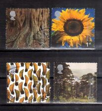 GREAT BRITAIN 2000 Tree and Leaf set used