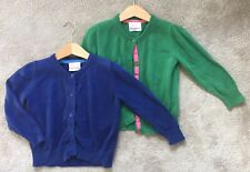 Girls Hanna Andersson Sweater Lot Blue And Green Sz 100 US 4