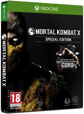 Mortal Kombat X Preorder Edition XBOX ONE IT IMPORT WARNER BROS