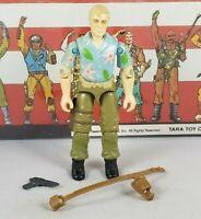 Original 1987 GI JOE CHUCKLES V1 ARAH Complete UNBROKEN figure cobra