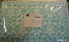 Nwt Pottery Barn 7 Piece Damask Essential Value Bedding Set Full/Queen Pool