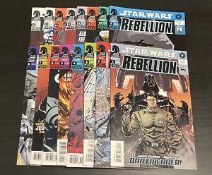 Star Wars Rebellion Complete Series 1-16   NM   Dark Horse Comics