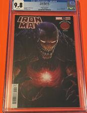 Iron Man #4 CGC 9.8 - 🔥 Rapoza Knullified Variant Cover - 2021